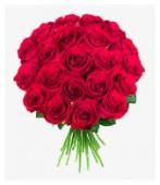 Букет из 21 розы, 50 см.