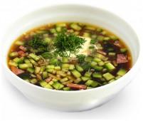 Суп Окрошка мясная
