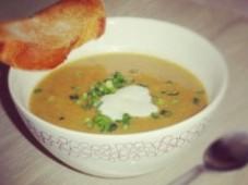 Крем-суп из печени