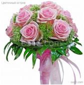 Свадебный букет Розовые сны