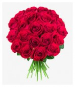 Букет из 25 роз, 70 см.