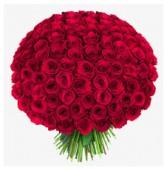 Букет из 101 розы, 70 см.