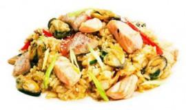 Тепань яки с морепродуктами