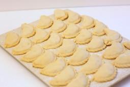 Вареники картофель+грибы, 1 кг.