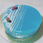 Торт глянцевый