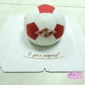 Торт мячик