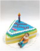 Торт кусочек счастья