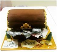 Торт сундучок