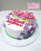 Торт любимой мамочке