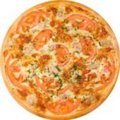 Пицца Сырный Цыпленок/33 см., американское тесто