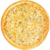 Пицца 4 сыра/33 см., итальянское тесто
