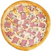Пицца Ветчина и грибы/33 см., итальянское тесто