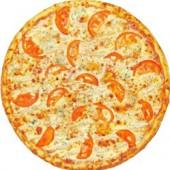 Пицца Ветчина и курица/33 см., американское тесто
