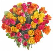 Роза Кения 40 см., микс