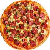 Пицца Эконом/33 см., американское тесто