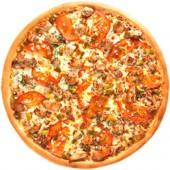 Пицца Домашняя/33 см., американское тесто