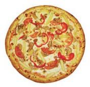 Пицца Постная № 2/33 см., итальянское тесто