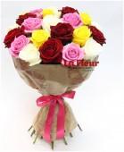 Букет из 25 роз Ассорти