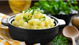 Картофельное пюре 200/10гр.