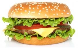 Вятский бургерс мясной котлетой